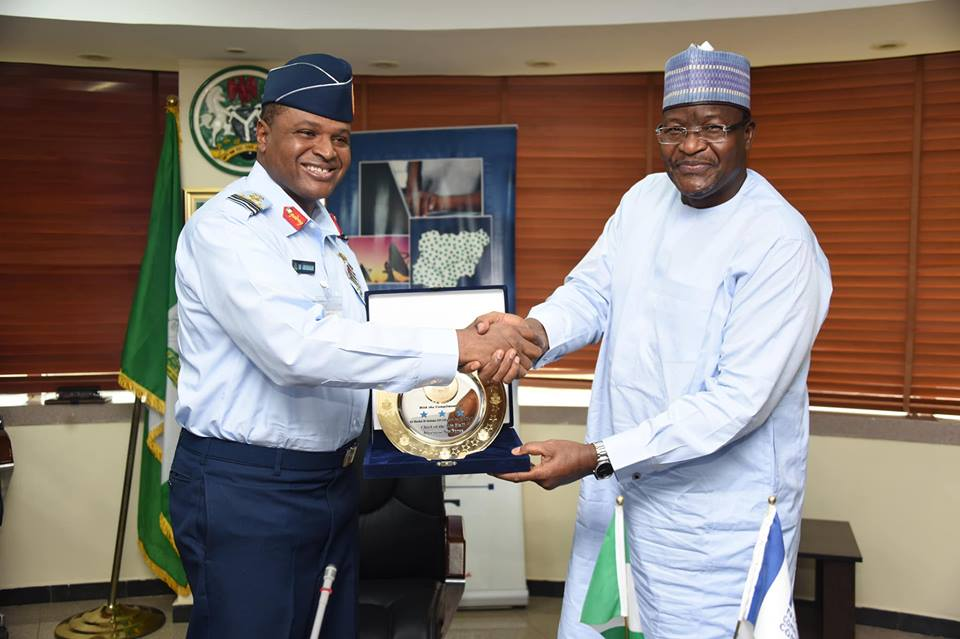 Chief of Air Staff visits EVC/CEO-NCC