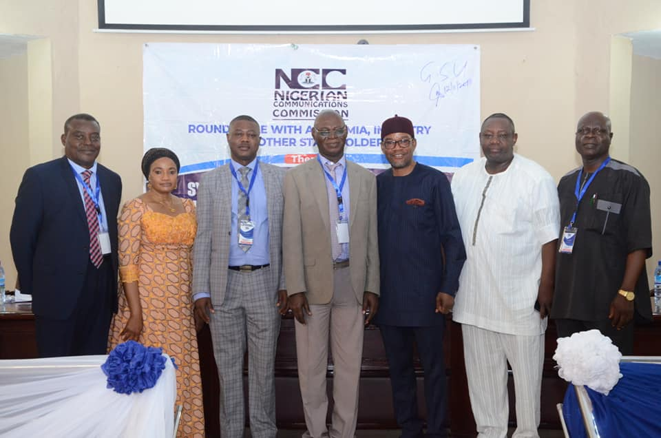 NCC Holds Roundtable with Academia, Industry and Other Stakeholders Session, in Benin, Edo State December 12-13, 2018.