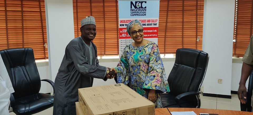 NCC donates computers to Institute to enhance IT training