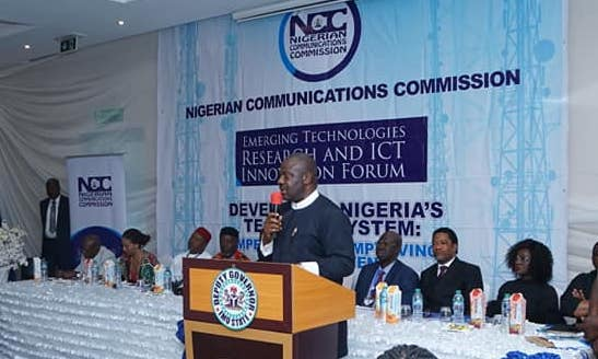 Ihedioha solicits NCC partnership for ICT innovation in Imo