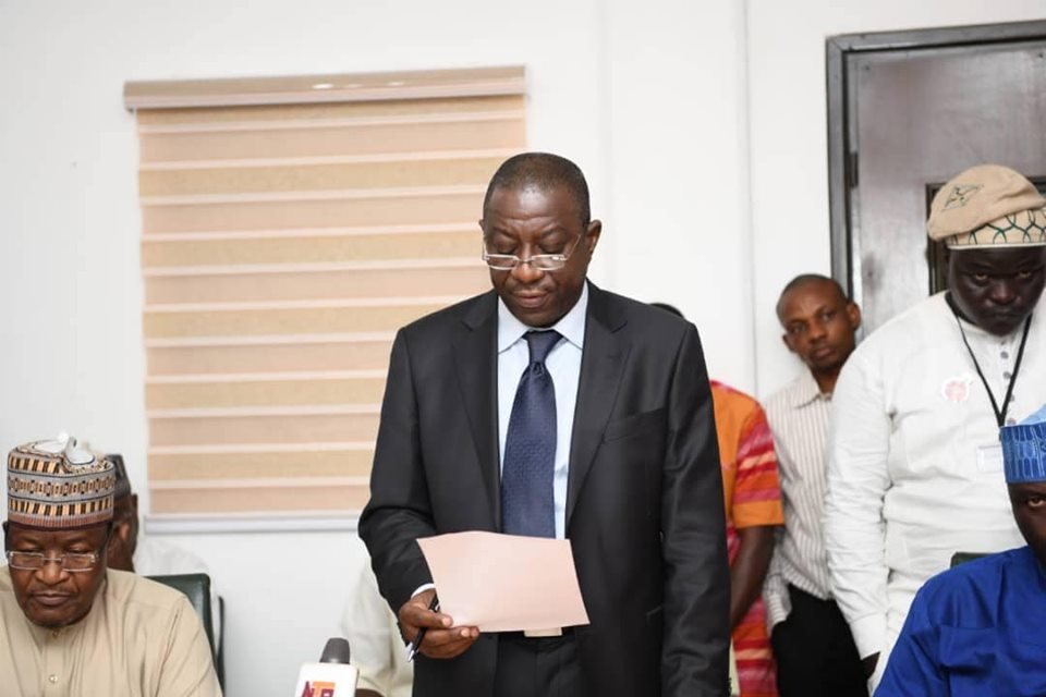 Adewolu takes oath as NCC's new Executive Commissioner Stakeholder Management (ECSM)